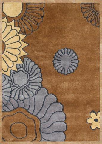 Safavieh Soho SOH855A Brown and Multi