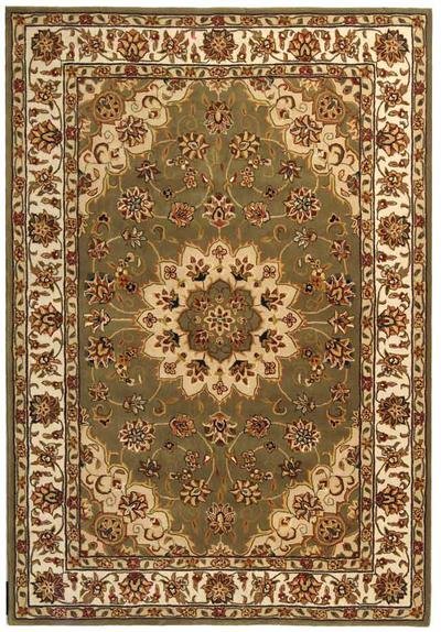 Safavieh Traditions TD610A Green and Ivory