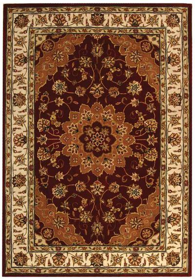 Safavieh Traditions TD610C Red and Ivory