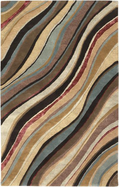Surya Artist Studio Art229 Brown Area Rug Free Shipping