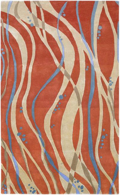 Surya Studio Sr109 Orange Area Rug Free Shipping