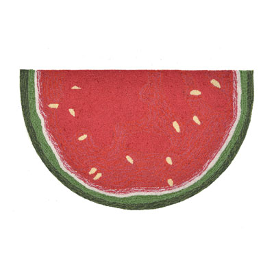 Trans Ocean Frontporch Watermelon Slice Red 155524