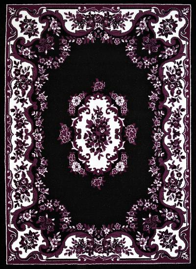 United Weavers Cafe Classic Aubusson Black