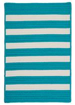 Colonial Mills Stripe It TR49 Turquoise