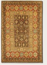 Couristan Lahore Marasali and Brown/Rust 1164/0179