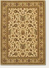Couristan Royal Luxury Brentwood and Linen/Beige 1323/0001