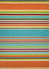 Couristan Covington Sherbet Stripe and Multi 2296/3067