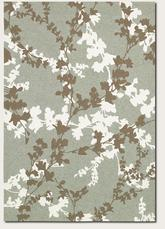 Couristan Covington Willow Branch and Sage/Ivory 2397/0015