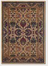 Couristan Anatolia Royal Plume and Cream/Plum 2715/0706