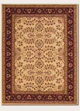 Couristan Anatolia Antique Herati and Cream/Red 2867/0007