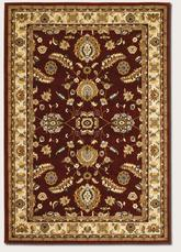 Couristan Anatolia Floral Heriz and Red/Cream 2872/0785