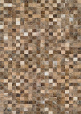 Couristan Chalet Pixels and #COLOR_DETAILED# Brown 32689017