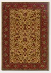 Couristan Everest Tabriz and Harvest Gold 3773/4874