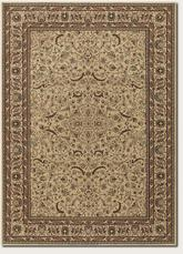 Couristan Anatolia Medallion Ispaghan and Cream 3868/0001