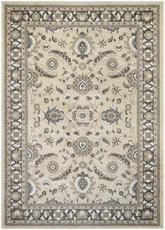 Couristan Konya Mardin and Light Beige/Charcoal 3975/0977