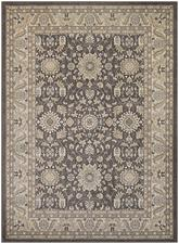 Couristan Konya Tomek and Light Brown/Ivory 3979/0866