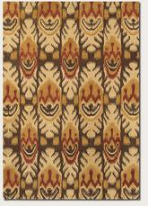 Couristan Sierra Vista Tucson and Beige/Brown 4069/0612