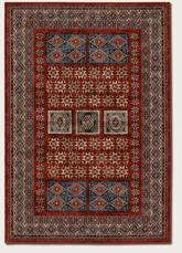 Couristan Timeless Treasures Royal Kazak and Burgundy 4307/0300