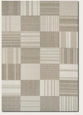 Couristan Afuera Patchwork and Beige/Ivory 5038/6031