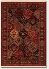 Couristan Kashimar Ardibel Panel and Antique Red/Multi 5607/1872