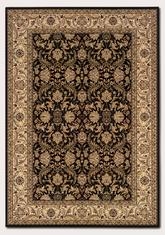 Couristan Himalaya Isfahan and Ebony/Antique Creme 6259/1000