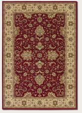 Couristan Izmir Floral Bijar and Red 7016/2000