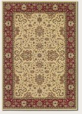 Couristan Izmir Floral Bijar and Ivory 7016/3000