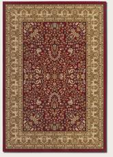 Couristan Izmir Floral Mashhad and Red 7018/2000
