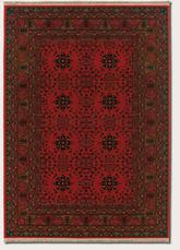 Couristan Kashimar Afghan and Nomad Red 7870/1872