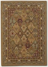 Couristan Royal Kashimar Persian Panel and Hazelnut 8042/9342