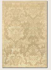 Couristan Impressions Antique Damask and Gold/Ivory 8064/0264