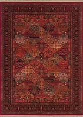 Couristan Kashimar Imperial Baktiari and Antique Red 8143/3203