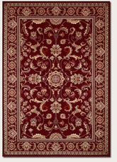Couristan Odessa Capulet and Red/Ivory 8160/4010