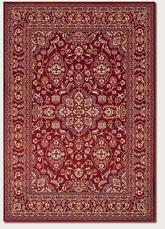 Couristan Odessa Dorset and Red/Ivory 8164/4014
