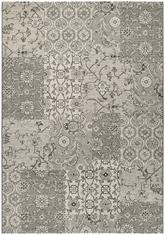 Couristan Traditions Bruges and Dark Grey/Ivory 9654/2848