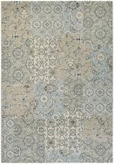 Couristan Traditions Bruges and Light Grey/Ivory 9654/2858