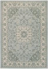Couristan Traditions Namur and Light Blue/Ivory 9657/5868