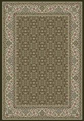 Dynamic Rugs Ancient Garden 57011-3263 Black and Ivory