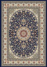 Dynamic Rugs Ancient Garden 57119-3434 Blue and Ivory