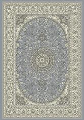 Dynamic Rugs Ancient Garden 57119-4646 Steel Blue and Cream