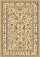 Dynamic Rugs Ancient Garden 57120-2464 Light Gold and Ivory