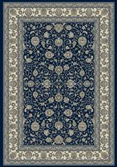 Dynamic Rugs Ancient Garden 57120-3464 Blue and Ivory