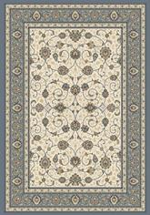 Dynamic Rugs Ancient Garden 57120-6454 Ivory and Light Blue