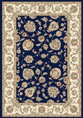 Dynamic Rugs Ancient Garden 57365-3464 Blue and Ivory