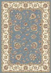 Dynamic Rugs Ancient Garden 57365-5464 Light Blue and Ivory