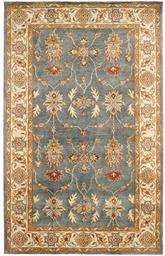 Dynamic Rugs Charisma 1403-500 Blue and Ivory