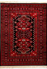 Dynamic Rugs Crown 16223-090 Red and Black