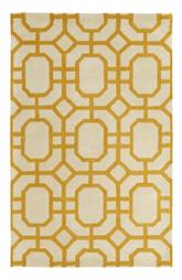 Dynamic Rugs Palace 5599-707 Ivory and Yellow