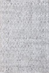 Dynamic Rugs Quartz 27039-111 Ivory and Silver