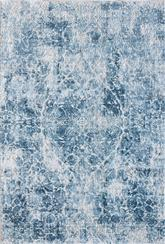 Dynamic Rugs Quartz 27040-500 Ivory and Blue